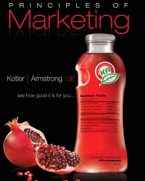 Test Bank for Principles of Marketing 13th Edition by Kotler