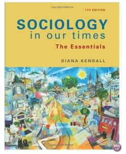 Test Bank for Sociology in Our Times 5th Canadian Edition by Murray