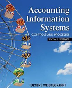 Test Bank for Accounting Information Systems 1e by Turner and Weickgenannt