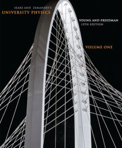 Solution Manual for University Physics 13th Edition by Young