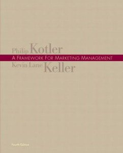 Test Bank for A Framework for Marketing Management, 4th Edition: Kotler