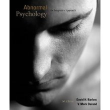 Abnormal Psychology An Integrated Approach Barlow 6th Edition Test Bank