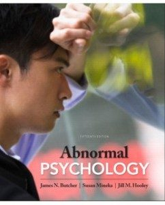 Test Bank for Abnormal Psychology, 15th Edition: James N. Butcher