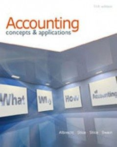 Test Bank for Accounting Concepts and Applications, 11th Edition: Albrecht