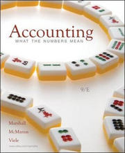 Accounting What the Numbers Mean Marshall McManus 9th Edition Solutions Manual