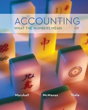 Accounting What the Numbers Mean Marshall 10th Edition Solutions Manual