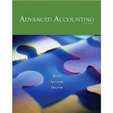 Advanced Accounting Hoyle 9th Edition Test Bank