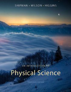 Test Bank for An Introduction to Physical Science, 13th Edition : Shipman