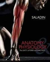 Anatomy & Physiology The Unity of Form and Function Saladin 6th Edition Solutions Manual