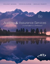 Auditing and Assurance Services A Systematic Approach Messier 8th Edition Solutions Manual