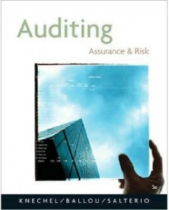 Test Bank for Auditing: Assurance and Risk, 3rd Edition: W. Robert Knechel