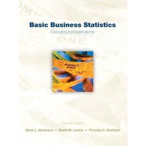 Test Bank for Basic Business Statistics, 11th Edition : Berenson