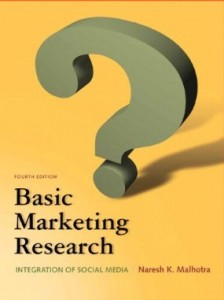 Test Bank for Basic Marketing Research, 4th Edition : Malhotra