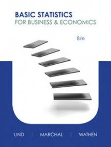 Test Bank for Basic Statistics for Business and Economics, 8th Edition: Lind