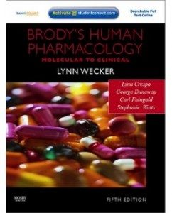 Test Bank for Brody's Human Pharmacology, 5th Edition: Lynn Wecker