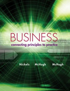 Test Bank for Business Connecting Principles to Practice, 1st Edition: Nickels