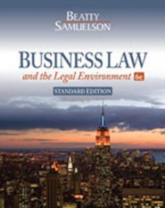Test Bank for Business Law and the Legal Environment, 6th Edition: Beatty