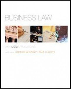 Test Bank for Business Law, 12th Edition: Brown