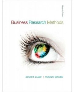 Test Bank for Business Research Methods, 11th Edition: Donald R. Cooper