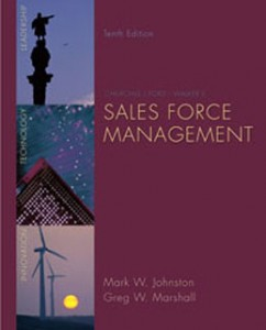 Test Bank for Churchill Ford Walkers Sales Force Management, 10th Edition: Johnston