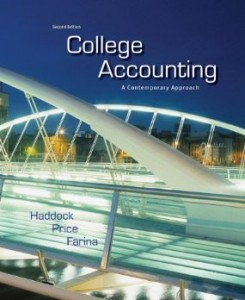 Test Bank for College Accounting A Contemporary Approach, 2nd Edition : Haddock