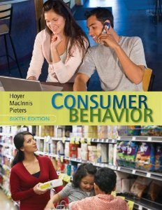 Test Bank for Consumer Behavior, 6th Edition : Hoyer