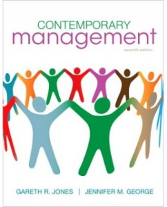 Test Bank for Contemporary Management, 7th Edition: Gareth R. Jones