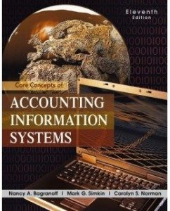 Test Bank for Core Concepts of Accounting Information Systems, 11th Edition: Nancy A. Bagranoff