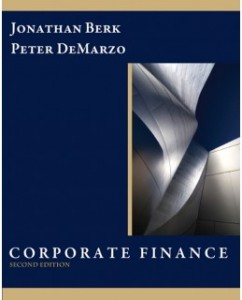 Test Bank for Corporate Finance, 2nd Edition: Jonathan Berk