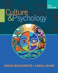 Test Bank for Culture and Psychology, 4th Edition: Matsumoto