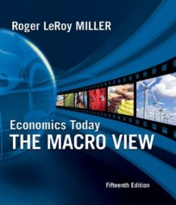 Test Bank for Economics Today The Macro View, 15 Edition : Miller