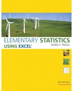 Test Bank for Elementary Statistics Using Excel, 4th Edition: Mario F. Triola