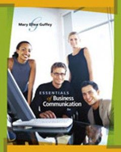 Test Bank for Essentials of Business Communication, 8th Edition: Guffey