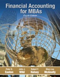 Test Bank for Financial Accounting for MBAs, 4th Edition: Easton