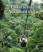Financial Accounting Information for Decisions Wild 6th Edition Test Bank