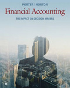 Test Bank for Financial Accounting The Impact on Decision Makers, 8th Edition: Porter