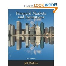 Financial Markets and Institutions Madura 9th Edition Test Bank