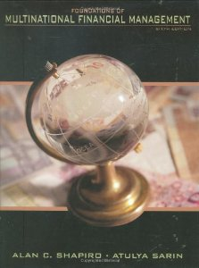 Test Bank for Foundations of Multinational Financial Management 6th Edition Alan C Shapiro