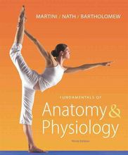 Fundamentals of Anatomy & Physiology Martini Nath 9th Edition Test Bank