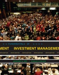 Test Bank for Fundamentals of Investment Management, 9th Edition: Hirt