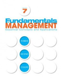 Test Bank for Fundamentals of Management, 7th Edition: Robbins
