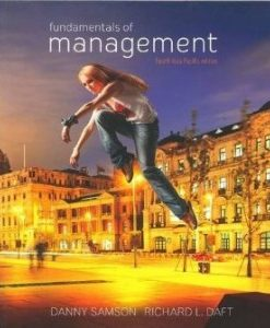 Test Bank for Fundamentals of Management, 4th Asia Pacific Edition : Samson