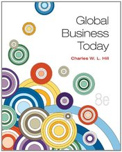 Global Business Today Hill 8th Edition Solutions Manual