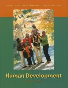 Test Bank for Human Development, 9th Edition : Crandell