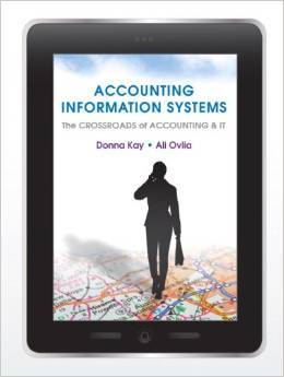 Instructor Manual For Accounting Information Systems: The Crossroads of Accounting and IT edition 1 by Donna Kay , Ali Ovlia