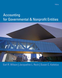Solution Manual For Accounting for Governmental and Nonprofit Entities, 15th edition by Earl Wilson, Jacqueline Reck, Susan Kattelu