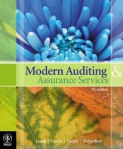 Solution Manual For Modern Auditing and Assurance Services 5th edition By Philomena Leung, Paul Coram, Barry J. Cooper, Peter Richardson