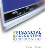 Solution Manual For Using Financial Accounting Information: The Alternative to Debits & Credits 5th edition by Gary A. Porter, Curtis L. Norton