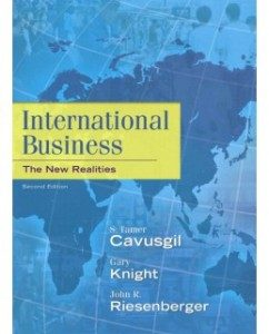 Test Bank for International Business: The New Realities, 2nd Edition: S. Tamer Cavusgil