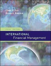 International Financial Management Eun Resnick 5th Edition Test Bank